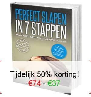Perfect Slapen in 7 Stappen 50% korting