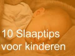 10 Slaaptips voor kinderen