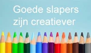 Goede slapers zijn creatiever