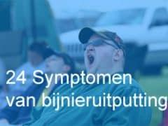 24 Symptomen van bijnieruitputting