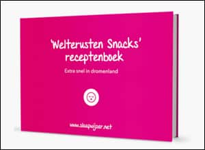 Welterusten Snacks Receptenboek cover