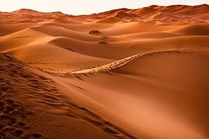 droge lucht woestijn