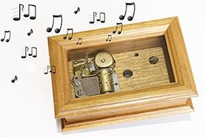 Muziekdoos met slaapliedjes