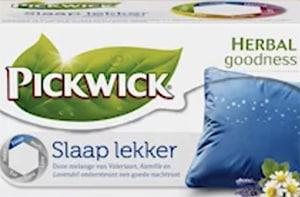 Slaap Lekker thee van Pickwick