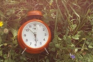 Biologische klok wekker