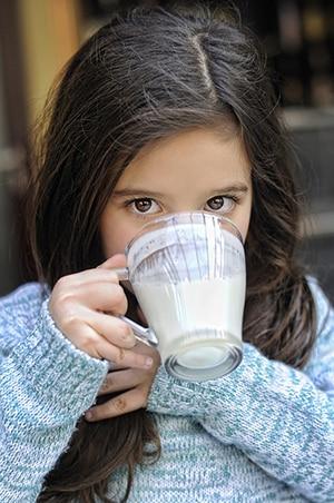 Drink warme melk