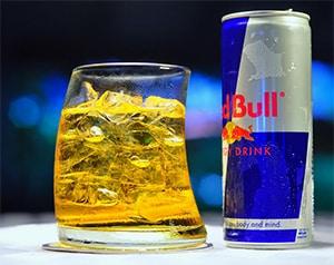 Wodka Red Bull mixdrank
