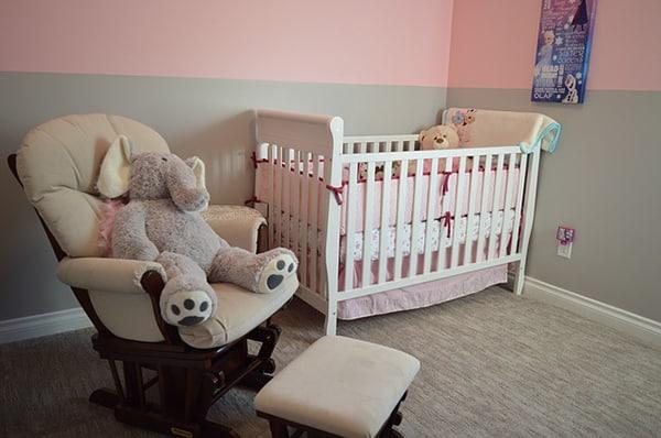 Nette babykamer