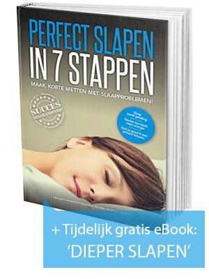 Perfect Slapen in 7 Stappen + gratis eBook Dieper Slapen
