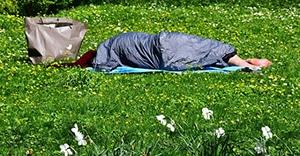 Slapen tijdens kamperen