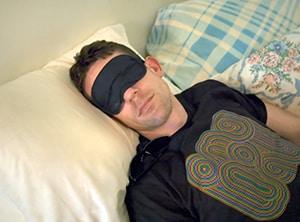 Goed slapen met een slaapmasker