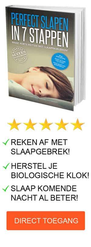 Perfect Slapen in 7 Stappen banner