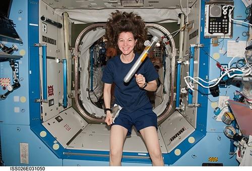 Vrouwelijke astronaut
