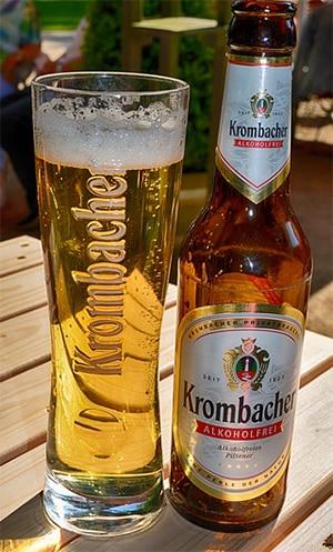 Alcoholvrij bier van Krombacher