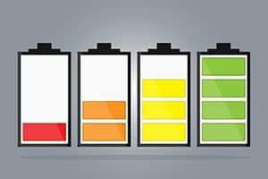 Batterij opladen tijdens het slapen