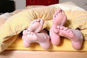 Slaapgebrek en intieme relaties