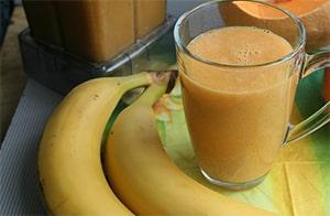 kokos-banaan smoothie recept