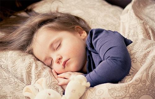 Kind slaapt