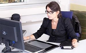 Hoge werkdruk als secretaresse
