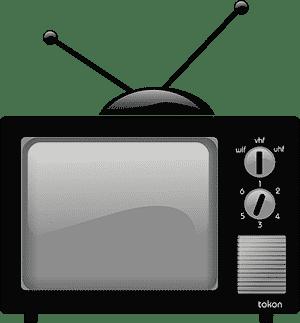 Kleurenblind door zwart-wit televisie?