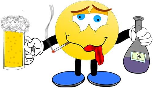 Misselijk en buikpijn door kater