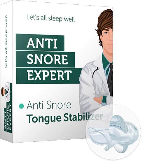 Tongstabilisator Anti Snurk Expert
