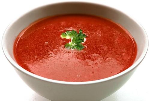 Ook tomatensoep bevat lycopeen