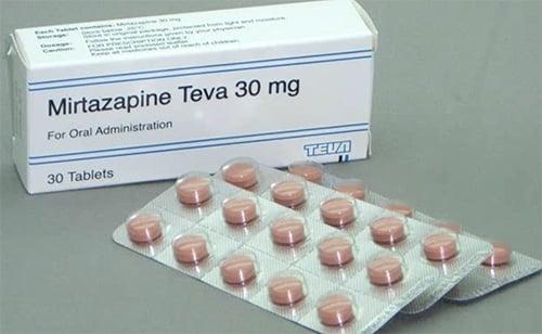 Mirtazapine en slapeloosheid