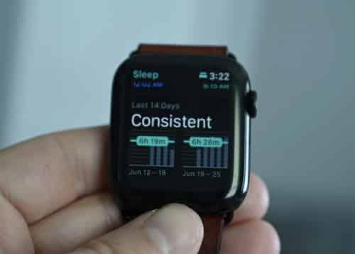 Apple Watch slaaptracker